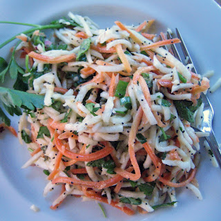 Turnip Carrot Slaw