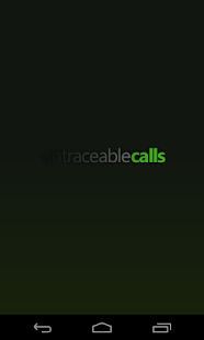 Untraceable Calls- screenshot thumbnail