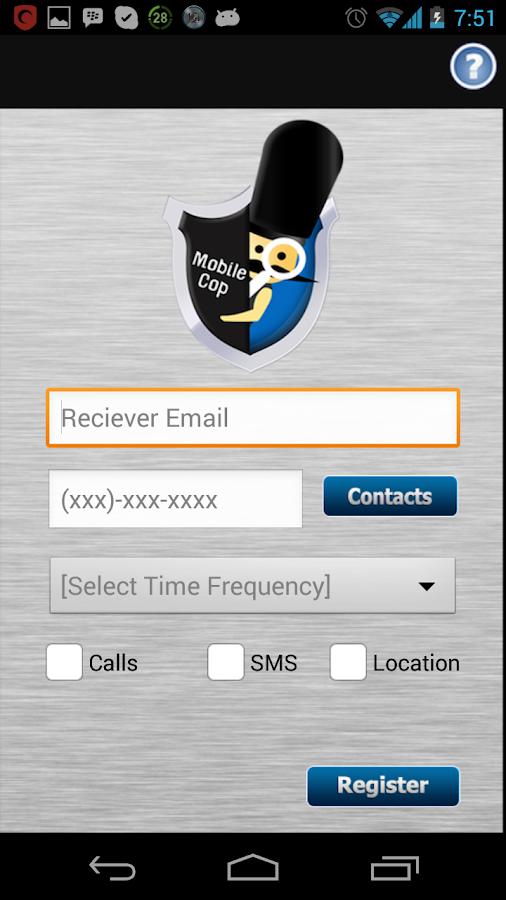 MobileCop - screenshot