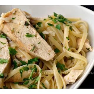 Pasta with Chicken.