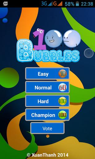 100 Bubbles
