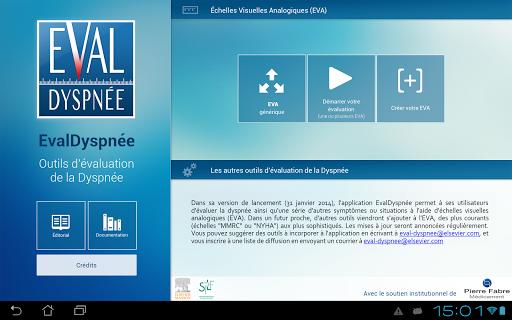 【免費醫療App】EvalDyspnée-APP點子