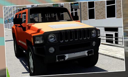 SUV悍马3D模拟器