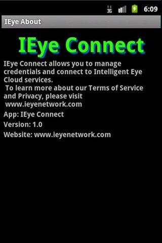 IEye Connect- screenshot