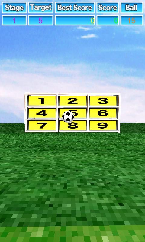 Kicker gra cel piłka nożna - screenshot