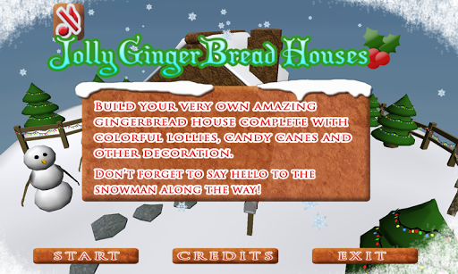 Jolly Gingerbread Houses