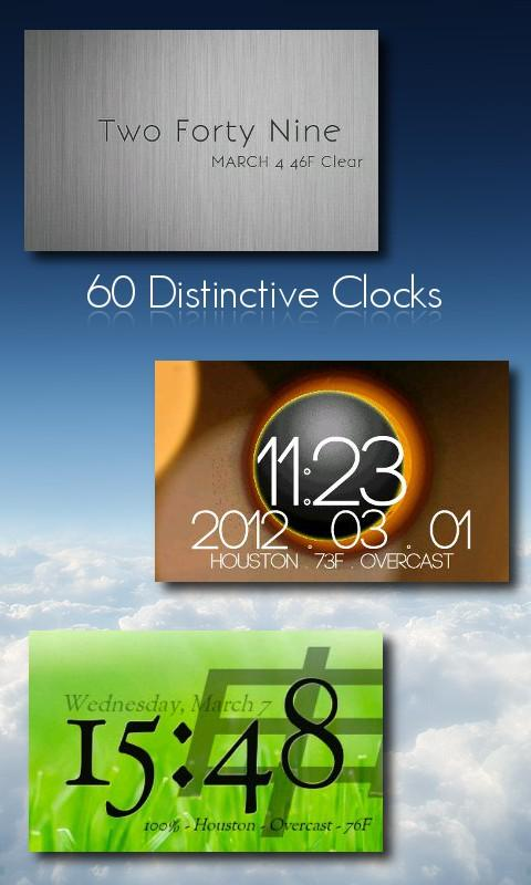 One More Clock Widget- screenshot