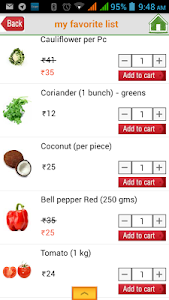 Vegwala.com screenshot 2