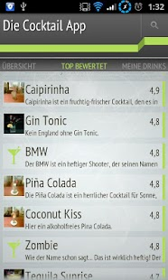 Die Cocktail App Lite- screenshot thumbnail
