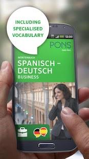 Spanish<>German BUSINESS - screenshot thumbnail