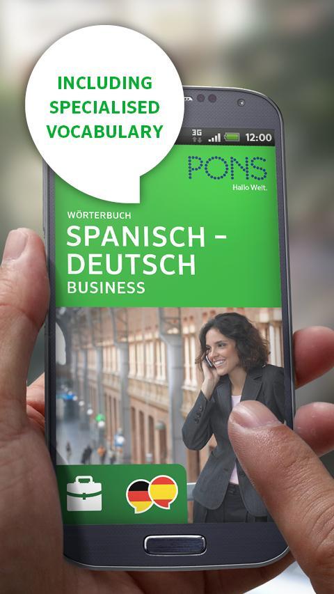 Spanish<>German BUSINESS - screenshot