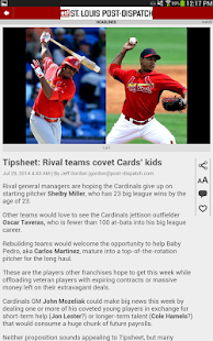 Post-Dispatch Baseball- screenshot thumbnail
