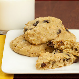 Banana-Chocolate Chip Cookies