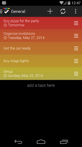 GTI - Tasks Notes To-Do List