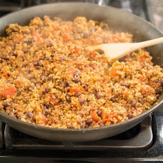 Tex Mex Beef & Quinoa Skillet.