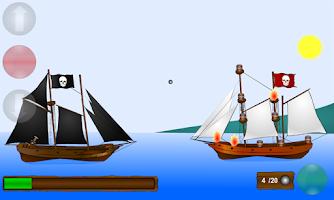 Screenshot of Pirate Ships War