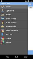 Screenshot of TumbleTally Gymnastics Tracker