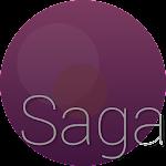 saga 2 icon pack theme nova v1