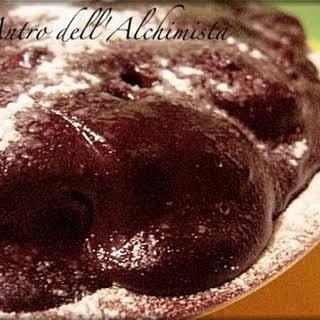 Chocolate Soaked Sponge Cake.