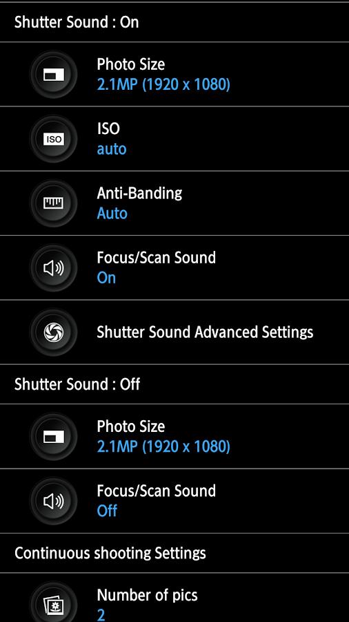 HD Camera Pro - screenshot