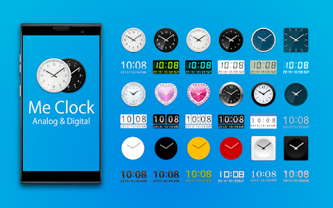 Me Clock widget-Analog&Digital v3.15