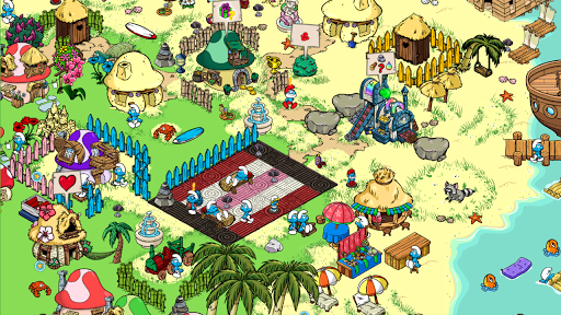 Smurfs village how to earn more resources (stones, woods, dye.