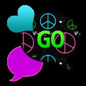 GO SMS THEME/PeacefulHearts4U