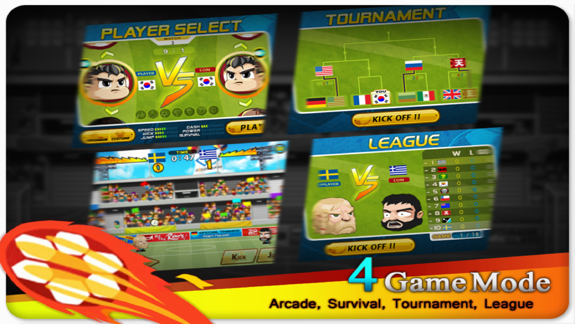 Head Soccer - screenshot