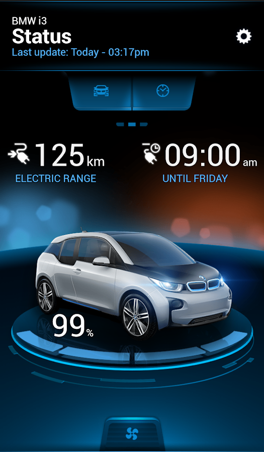 BMW i Remote - screenshot