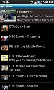 HBC Video - screenshot thumbnail