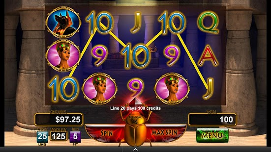 King's Tomb Video Slot Machine- screenshot thumbnail