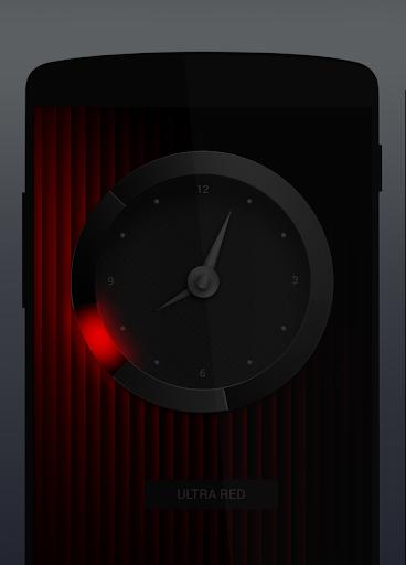 Ultra - analog clock widget