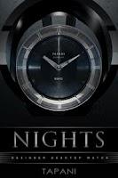 Screenshot of NIGHTS Designer Clock Widget