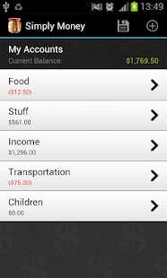 SimplyMoney - Accounts Manager- screenshot thumbnail