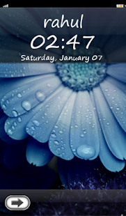 My Name Lock Screen Theme - screenshot thumbnail