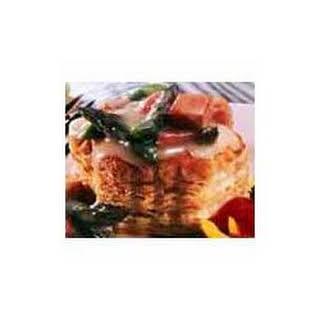 Swiss Ham and Asparagus.