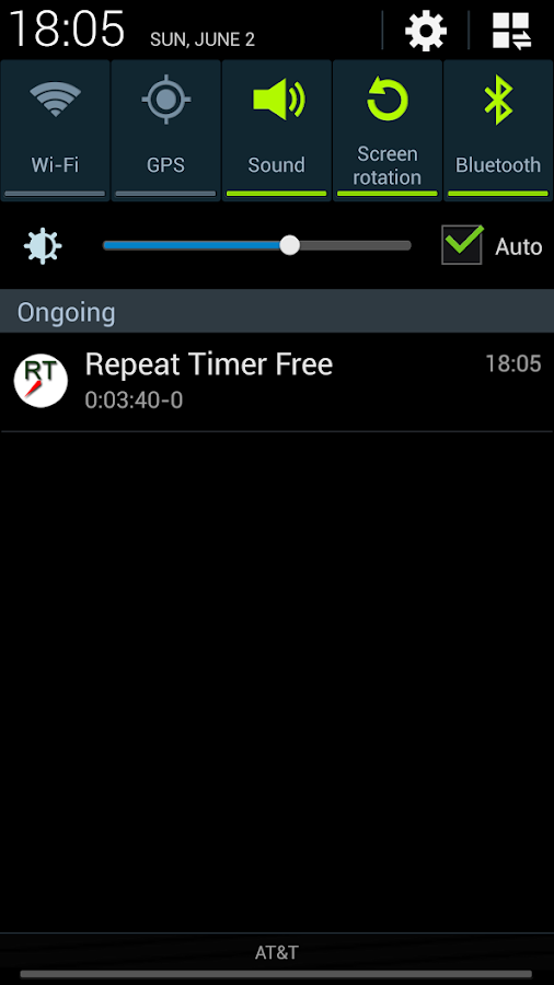 Repeat Timer Free - screenshot