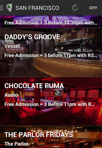 Guest List Nation for Android