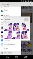 Screenshot of PonyMotes