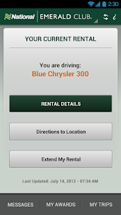 National Car Rental - screenshot thumbnail