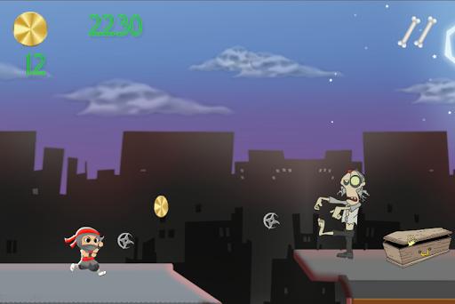 【免費動作App】屋顶忍者大战僵尸运行-APP點子