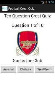 Football Crest Quiz- screenshot thumbnail