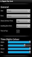 Screenshot of A Flippin Flip Clock