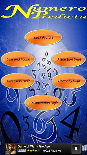【免費工具App】Numero Predicta (Free)-APP點子