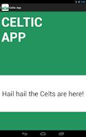 Screenshot of Celtic FC App