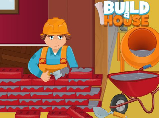 Build a house - Building games
