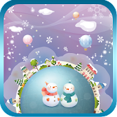 Rotate City Snowfall LWP(Free)