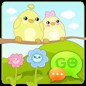 GO SMS Pro Sweet Spring Theme