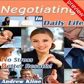 Negotiatingin Daily Life Pv