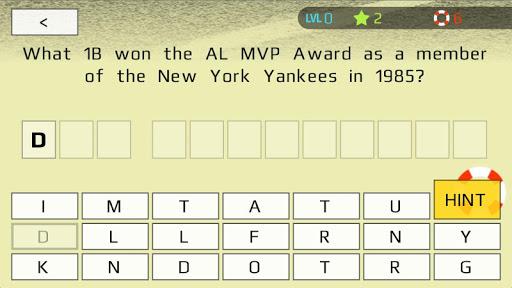 Baseball Trivia: Stats Awards